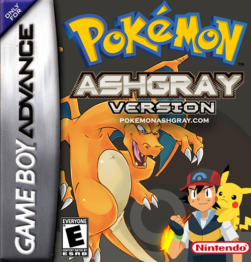 Pokemon Ash Gray GBA ROM Hacks