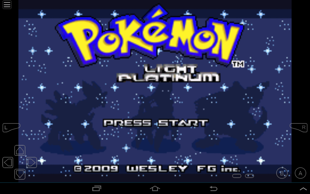 Pokemon Light Platinum GBA ROM Hacks