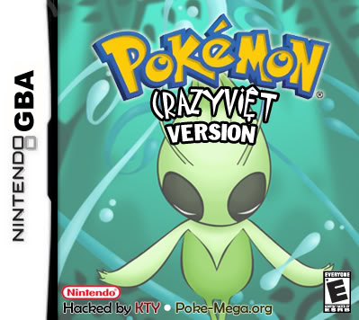 Pokemon Crazy Vie GBA ROM Hacks