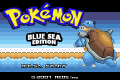 Pokemon Blue Sea Edition GBA ROM Hacks