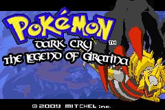 Pokemon Dark Cry: The Legend of Giratina Screenshot