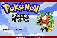 Pokemon Infernal Legend GBA ROM Hacks