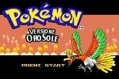 Pokemon Oro Sole Screenshot