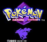Pokemon Pikachu Edition Screenshot