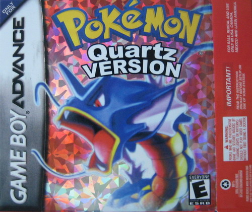 Pokemon Quartz GBA ROM Hacks