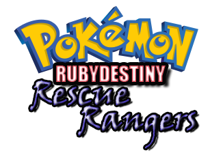 Pokemon Ruby Destiny - Rescue Rangers Screenshot