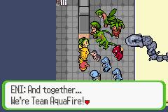Pokemon Ruby Destiny - Rescue Rangers Screenshot