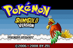 Pokemon Shiny Gold X GBA ROM Hacks