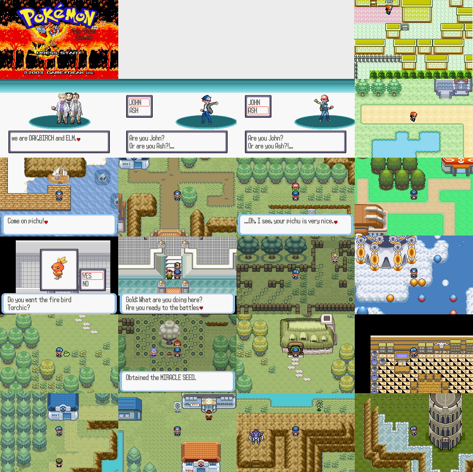Pokemon Third Element GBA ROM Hacks