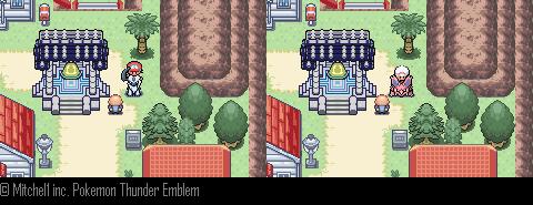 Pokemon Thunder Emblem GBA ROM Hacks