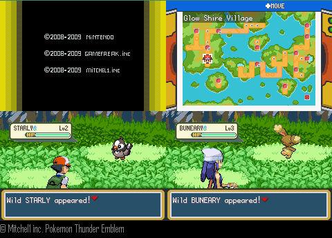 Pokemon Thunder Emblem Screenshot