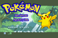 Pokemon Advanced Adventure Screenshot