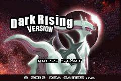 Pokemon Dark Rising GBA ROM Hacks