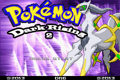 Pokemon Dark Rising 2 GBA ROM Hacks