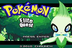 Pokemon Elite Quest GBA ROM Hacks