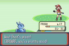 Pokemon Frigo Returns GBA ROM Hacks