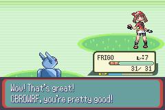 Pokemon Frigo Returns Screenshot
