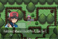 Pokemon Galaxy Elements Screenshot