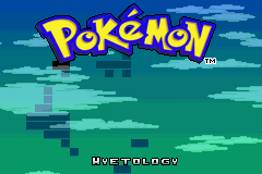 Pokemon Hyetology GBA ROM Hacks