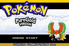 Pokemon Pure Gold GBA ROM Hacks
