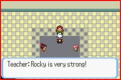 Pokemon School Screenshot