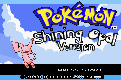 Pokemon Shining Opal GBA ROM Hacks