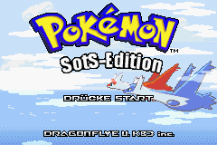 Pokemon Sovereign of the Skies GBA ROM Hacks