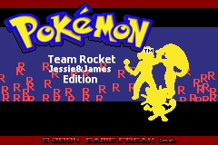 Pokemon Team Rocket Jessie & James Edition GBA ROM Hacks