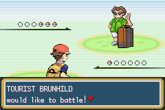 Pokemon Turquoise Screenshot