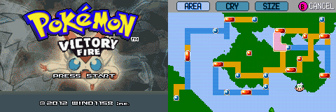 Pokemon Victory Fire GBA ROM Hacks