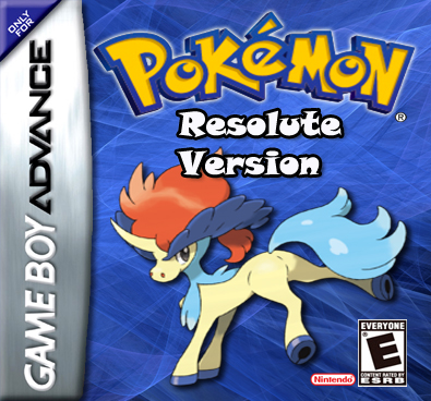 Pokemon Resolute GBA ROM Hacks
