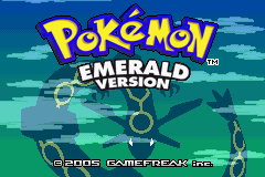 Pokemon Emerald Region Starter GBA ROM Hacks