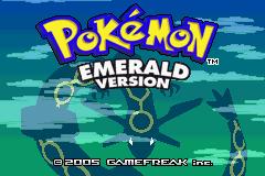Pokemon Emerald Region Starter Screenshot