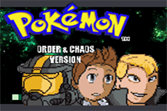 Pokemon Order and Chaos GBA ROM Hacks
