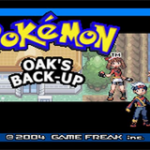 Pokemon Professor Oak's Back Up