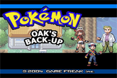 Pokemon Professor Oak's Back Up GBA ROM Hacks