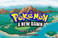 Pokemon A New Dawn GBA ROM Hacks
