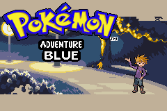 Pokemon Adventure Blue Chapter GBA ROM Hacks