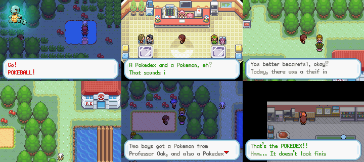 Pokemon Adventure Green Chapter GBA ROM Hacks