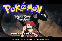 Pokemon Black Dark Screenshot