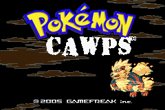 Pokemon CAWPS GBA ROM Hacks