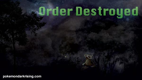 Pokemon Dark Rising: Order Destroyed GBA ROM Hacks