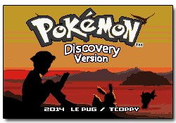 Pokemon Discovery GBA ROM Hacks