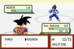 Pokemon Dragon Ball Z: Team Training GBA ROM Hacks