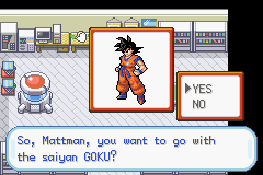 Pokemon Dragon Ball Z: Team Training GBA ROM Hacks