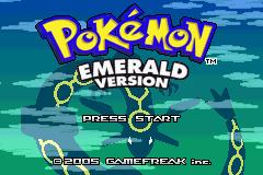Pokemon Emerald Legendary Screenshot