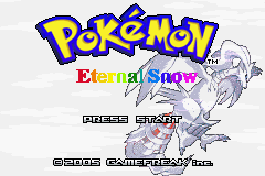 Pokemon Eternal Snow Screenshot