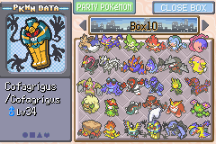 Pokemon Eternal Snow GBA ROM Hacks