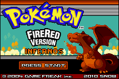 Pokemon Fire Red Infernos GBA ROM Hacks
