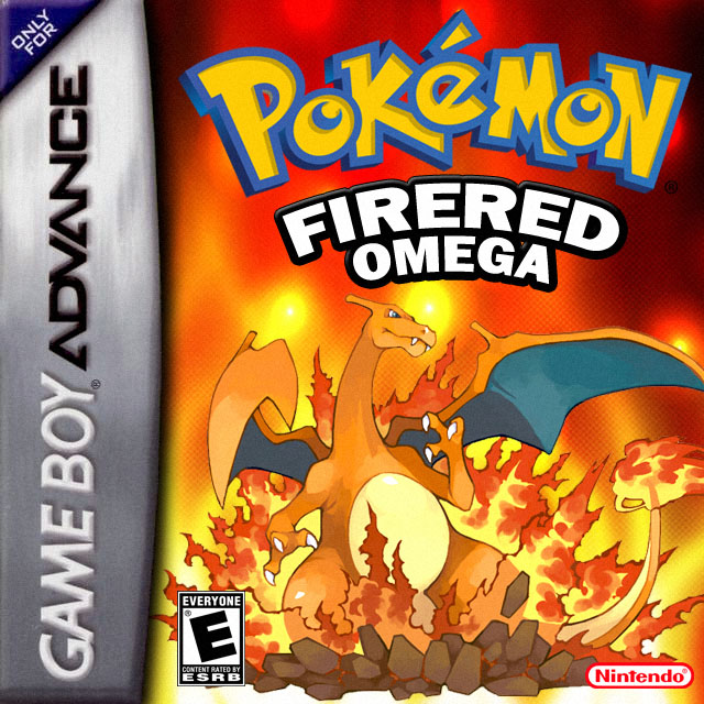 Pokemon Fire Red Omega GBA ROM Hacks